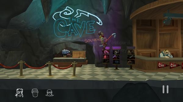 The Cave 3D - геймплей