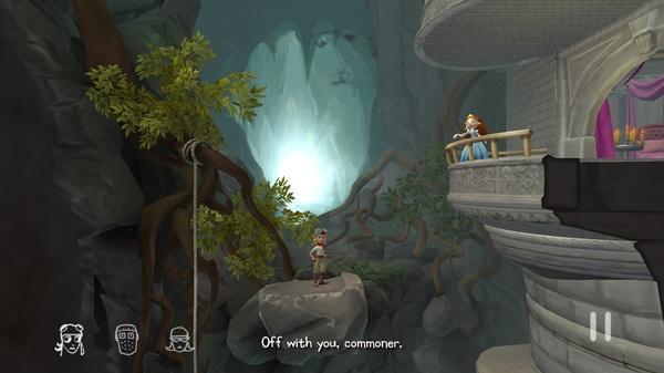 The Cave - спасение принцессы