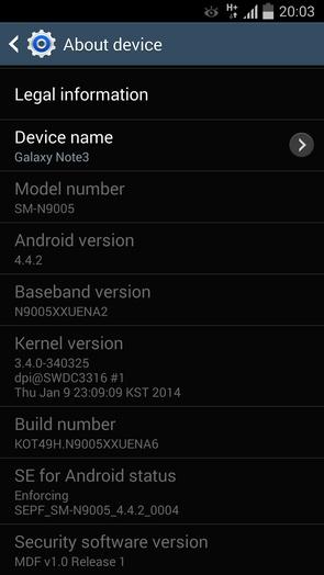 I9505XXUFNA1 Android 4.4.2 KitKat для Galaxy S4 I9505