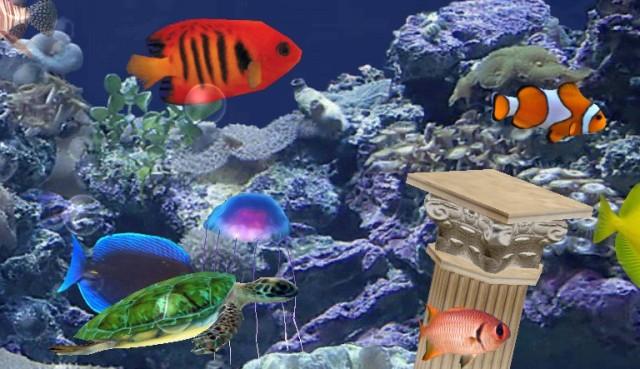 Обои на рабочий стол бесплатно живой аквариум торрент