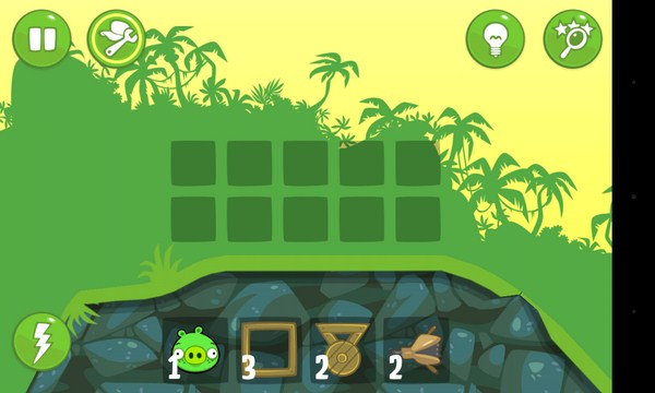 Bad Piggies - головоломка на Android