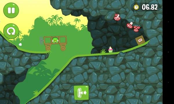 Bad Piggies - головоломка на Android
