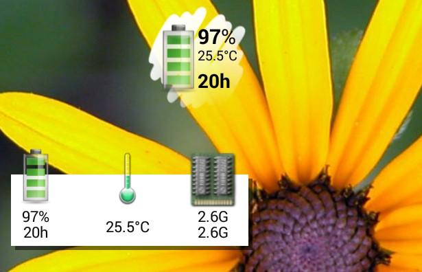 Battery widget - виджет батареи