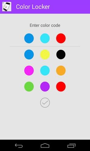 Color Locker - локскрин на Galaxy S4
