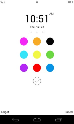 Color Locker - приложение на Galaxy S4