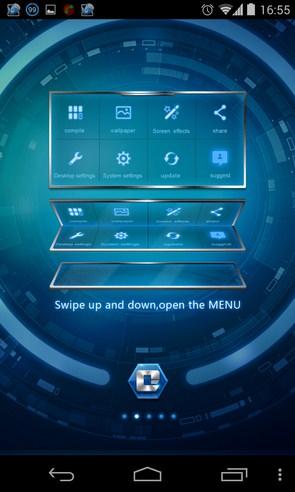 Comet Launcher - лончер на Samsung Galaxy S4