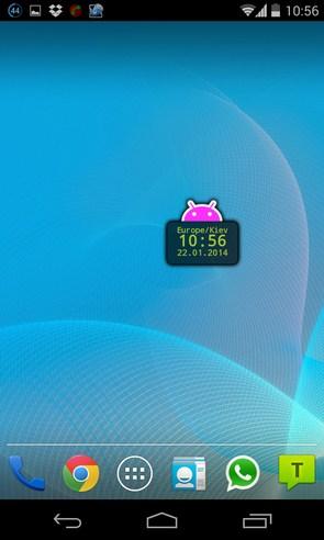 Divi Clock - виджет часов на Самсунг Галакси С4