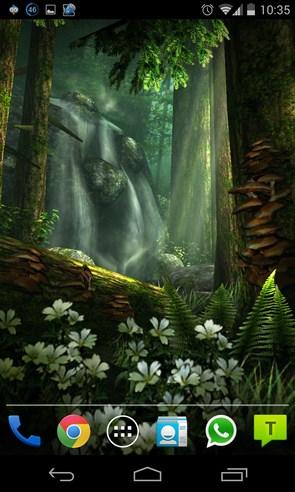 Forest HD - живые обои на Samsung galaxy S4