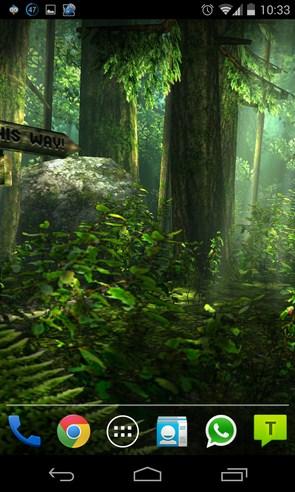 Forest HD - интерактивные обои на Галакси С4