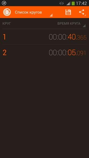 Hybrid Stopwatch
