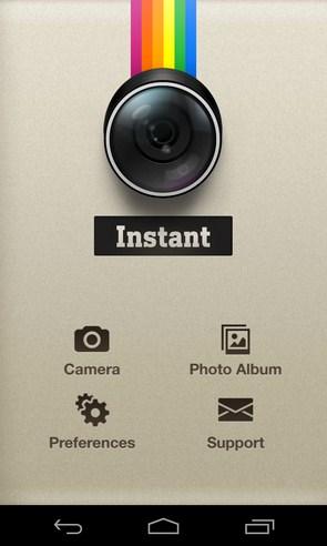 Instant - редактор на Samsung Galaxy S4
