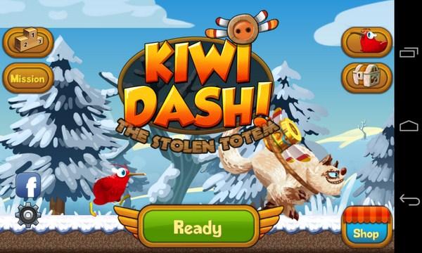 Kiwi Dash - игра на Samsung Galaxy S4