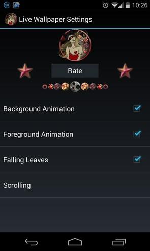 Morphine Fairy HD Wallpaper  - анимированные обои на Android