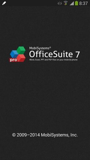 OfficeSuite Pro 7 v7.4.1610 на Samsung Galaxy