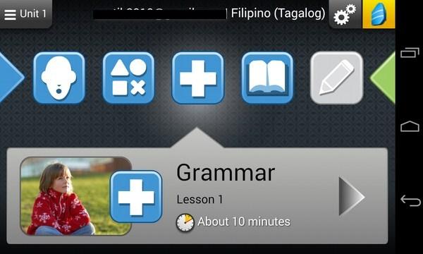 Rosetta Course - приложение на Android