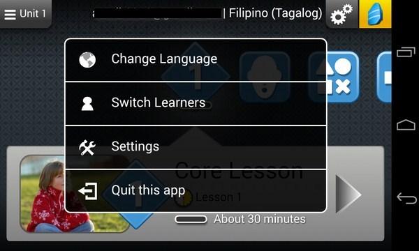 Rosetta Course - программа на samsung Galaxy S4