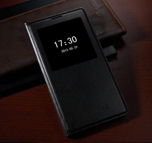 Черный S View Cover для Galaxy Note 3