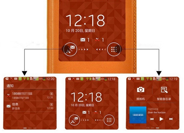S View Cover для Galaxy Note 3