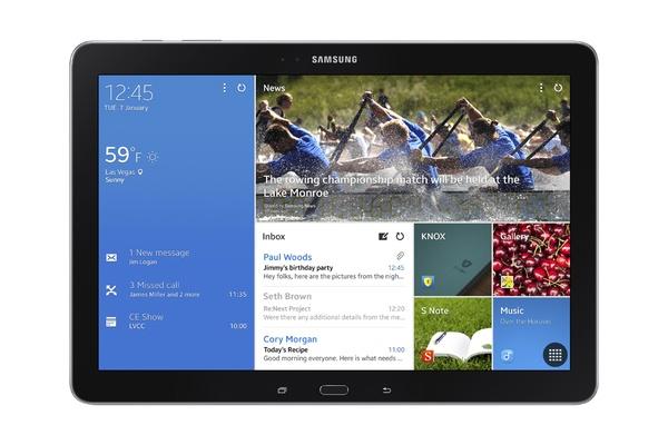 Samsung Galaxy Note Pro 12.2 - экран