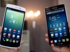 Сравнение Samsung Galaxy Note 3 vs Oppo N1