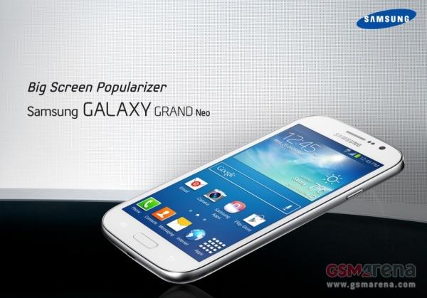Известны характеристики Galaxy Grand Neo