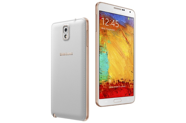 Samsung Galaxy Note 3 Rose Gold - белый