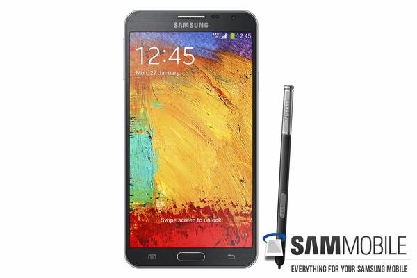 Внешний вид Samsung Galaxy Note 3 Neo SM-N750