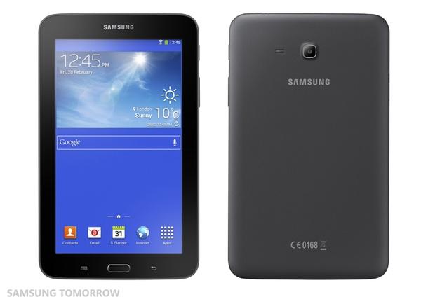Внешний вид Samsung Galaxy Tab 3 Lite