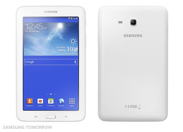 Фото и спецификации Samsung Galaxy Tab 3 Lite
