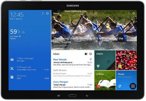 Внешний вид Samsung Galaxy Tab Pro 12.2
