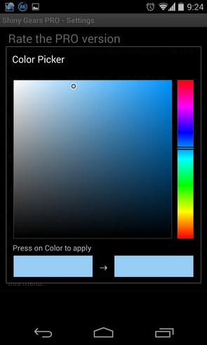 Shiny Gears - живые обои на Samsung Galaxy S4