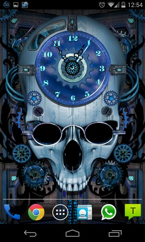 Steampunk Clock Live Wallpaper - живые обои на Galaxy S4