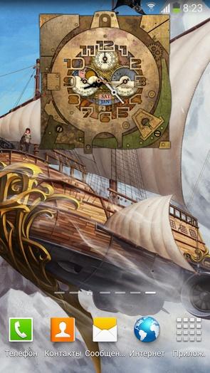 Steampunk Watch Wallpaper 2 для Samsung Galaxy