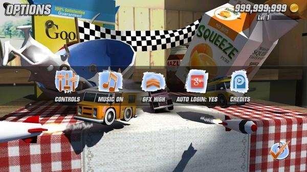 Table Top Racing - 3D гонки для Samsung Galaxy