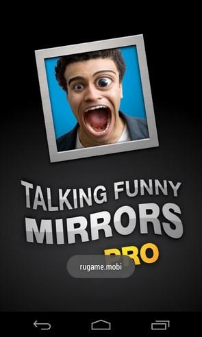 Talking Funny Mirrors - приложение на Samsung Galaxy S4