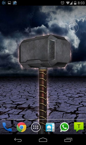 Thor: The Dark World LWP - живые обои на Samsung Galaxy S4