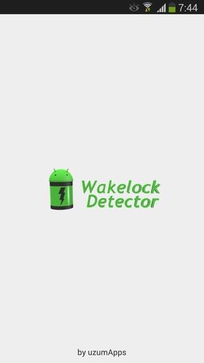 Wakelock Detector - сохранит заряд батареи