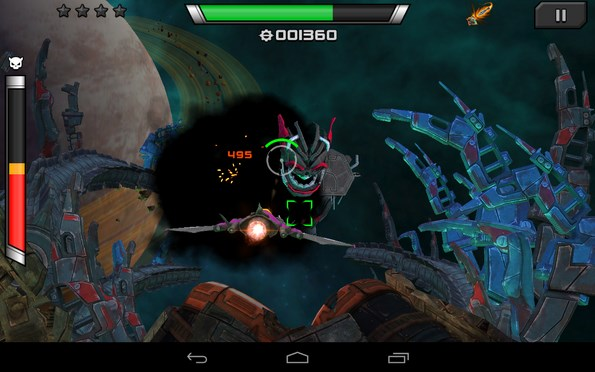 ARC Squadron: Redux – галактический батл для Галакси С4, Нот 3