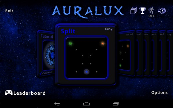 "Auralux – ""энергичная"" стратегия для Samsung Galaxy Note 3, S4, S3"