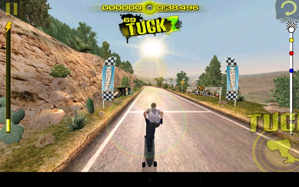 Downhill Xtreme – гонки на логбордах для Samsung Galaxy Note 3, S4, S3
