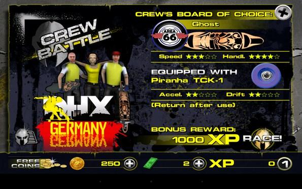 Downhill Xtreme – гонки на логбордах для Samsung Galaxy Note 3, S4, S3