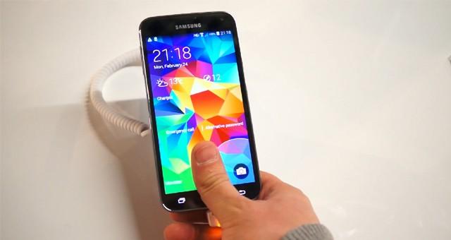 Как работает сканер отпечатка пальцев в Самсунг Галакси С5
