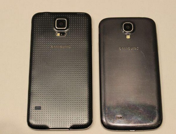Первые фотографии Samsung Galaxy S5 SM-G900 сравнение с Galaxy S4