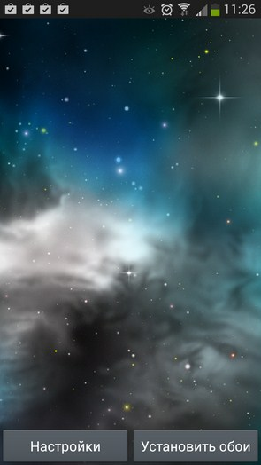 Galaxy 3D Parallax Wallpaper – трехмерные галактики для Samsung Galaxy Note 3, S4, S3