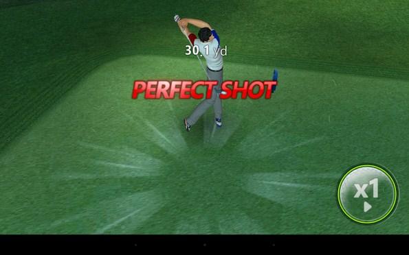 GolfStar – реалистичный симулятор гольфа для Галакси С4, Нот 3
