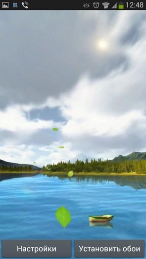 Lake WeatherHD – переменчивая погода для Галакси Нот 3, Галакси С4, С3
