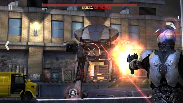 RoboCop – борец с преступностью для Samsung Galaxy Note 3, S4, S3