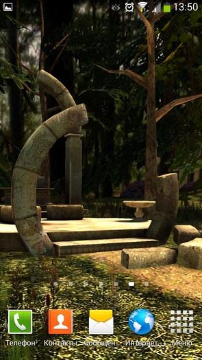 Ruines – древние развалины для Галакси С4, Нот 3