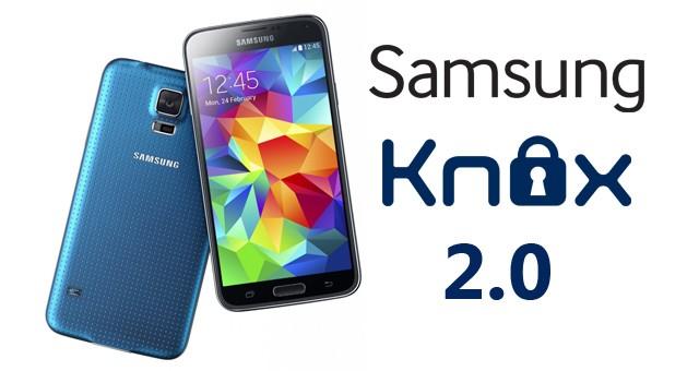 В Galaxy S5 используется система защиты Samsung Knox 2.0