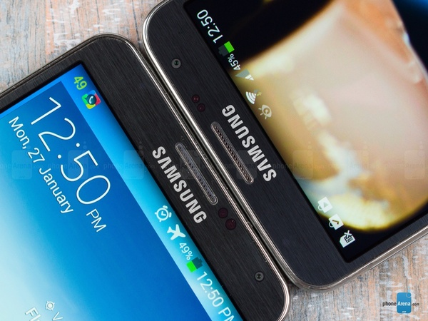 Samsung Galaxy Note III vs Galaxy Note 3 Neo - верхняя грань